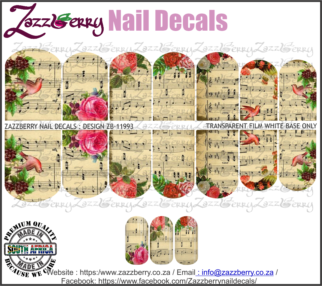 Vintage Music Notes