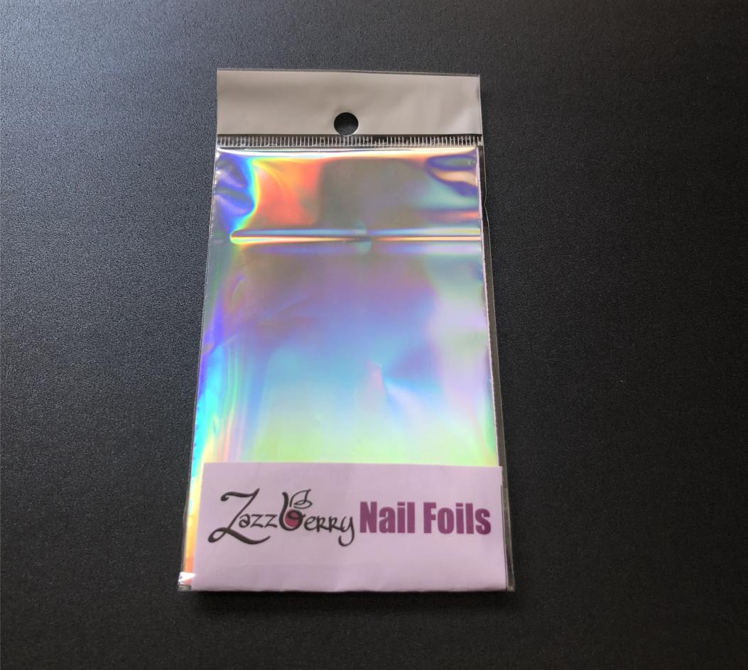 Silver Holographic Foil