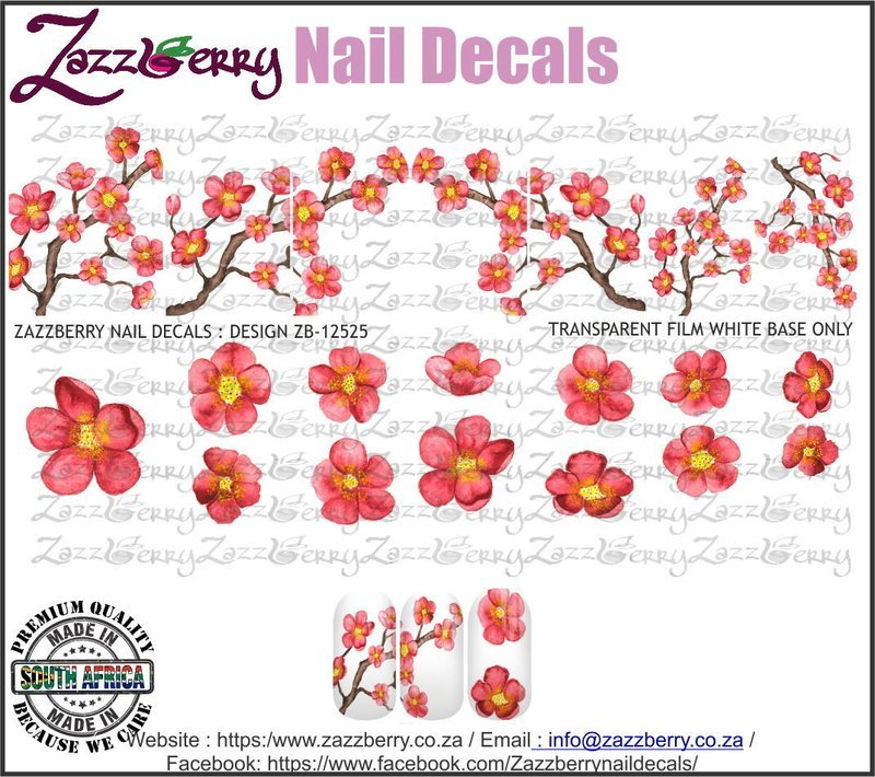 Coral Cherry Blossoms