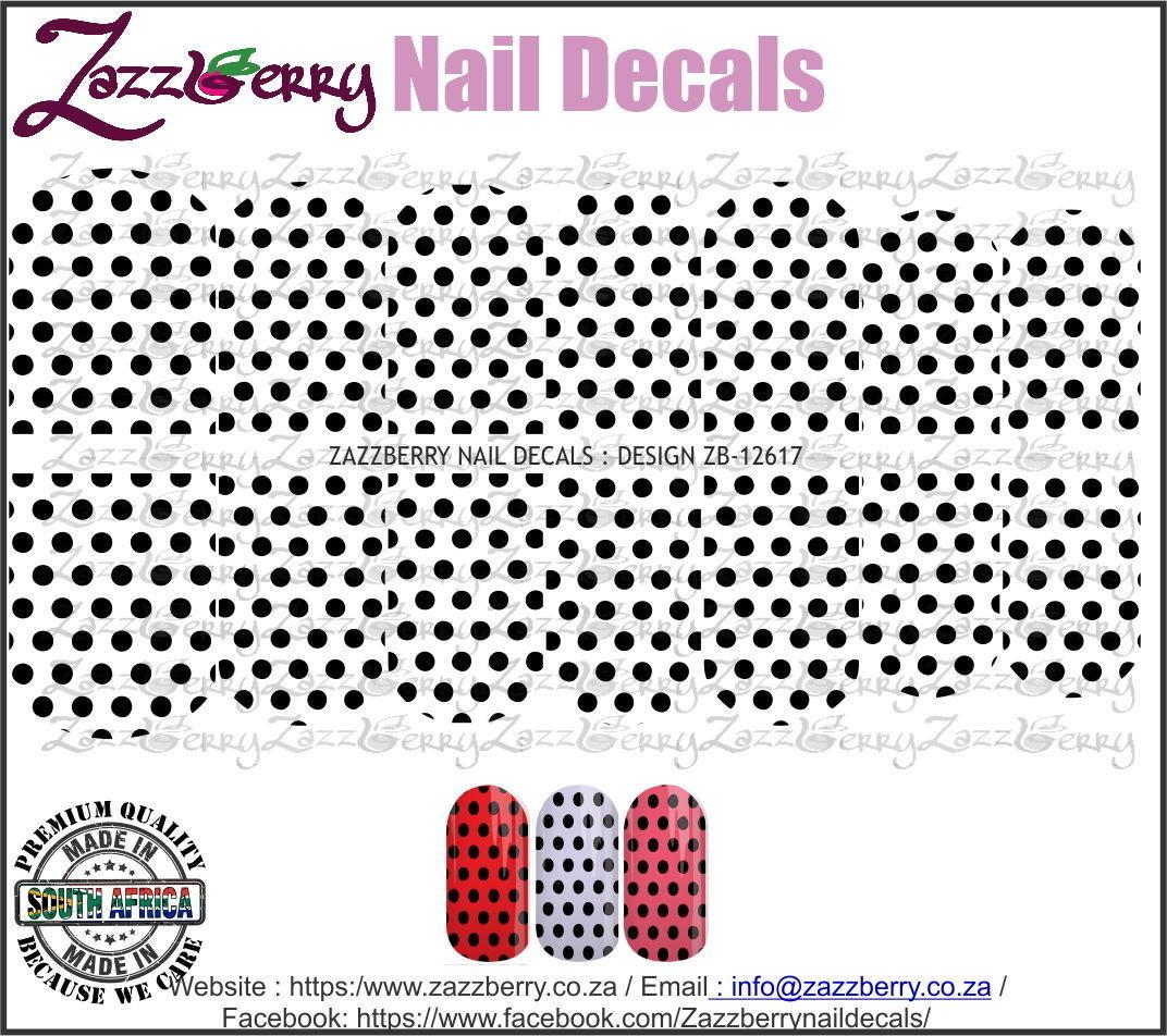 Black Polka Dots  (Black/White/Foil)