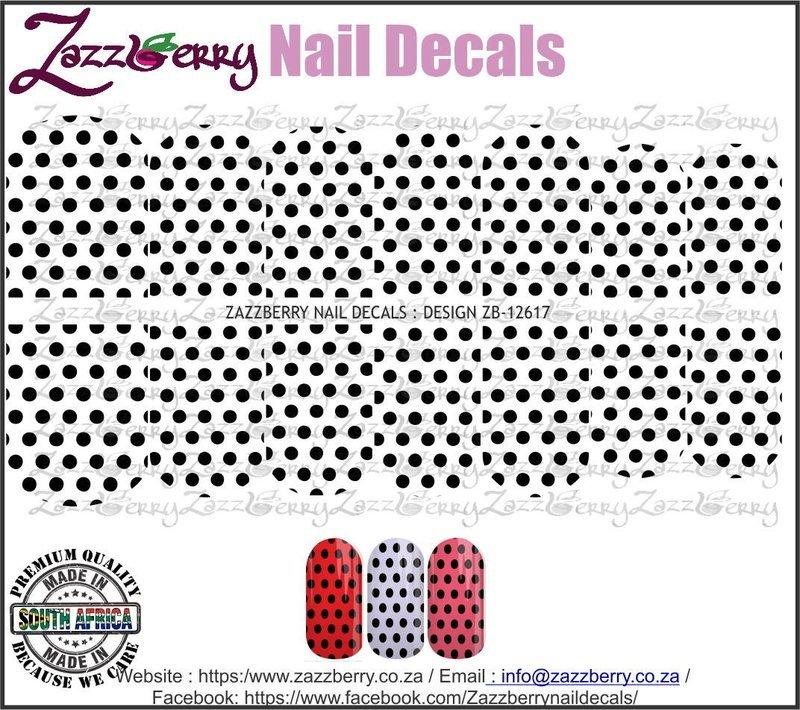 Black Polka Dots  (Black/White/Foil)
