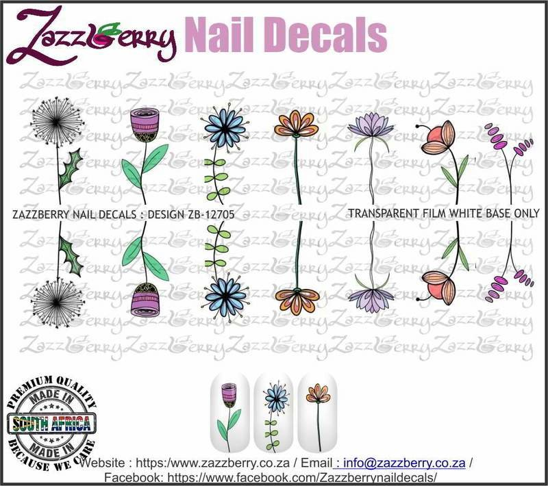 Hand Drawn Single Flowers