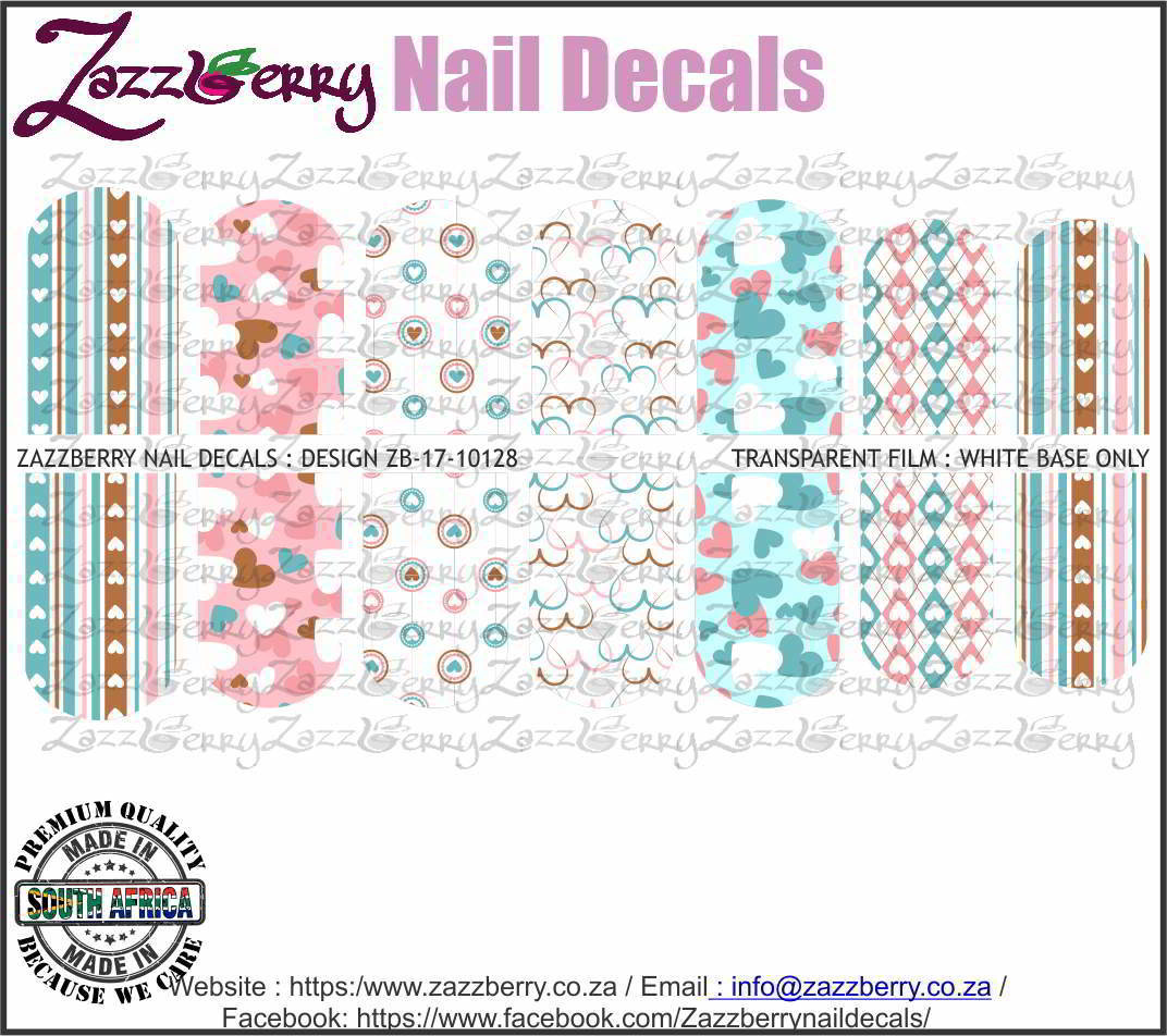 Pastel Color Assorted Hearts