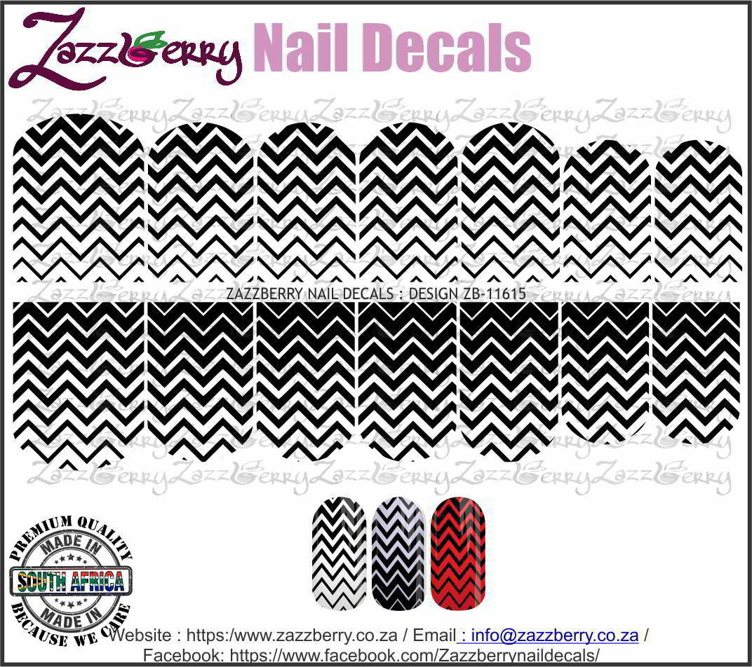 Chevron Mix - Black or White