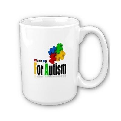 WakeUpForAutism Mug