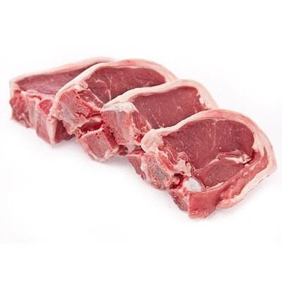 * Lamb Loin Chop Bone In 6x6 Ounces
