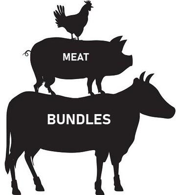 * Steak, Pork, Chicken And Lamb