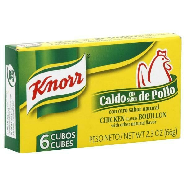 * Knorr Chicken Cube 6-2.3 Ounces