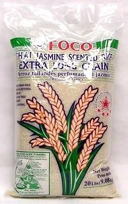 * Foco Jasmine Rice 20 Pounds