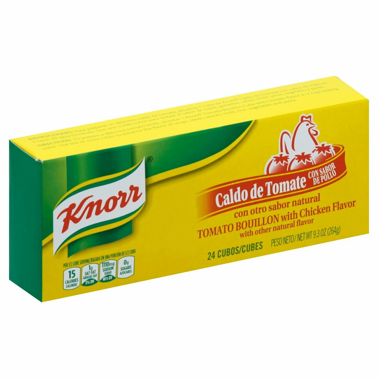* Knorr Chicken Cubes 24Ct 9.3 Ounces