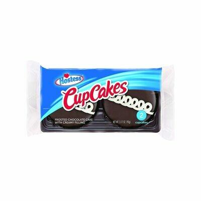 * Hostess Chocolate Cupcakes 3.17 Ounces