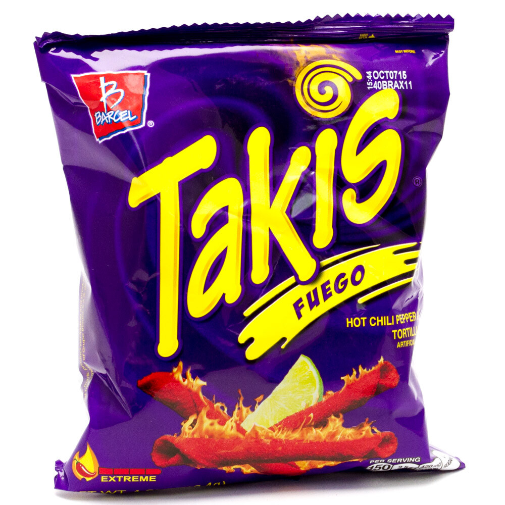 * Takis Fuego 4 Ounces