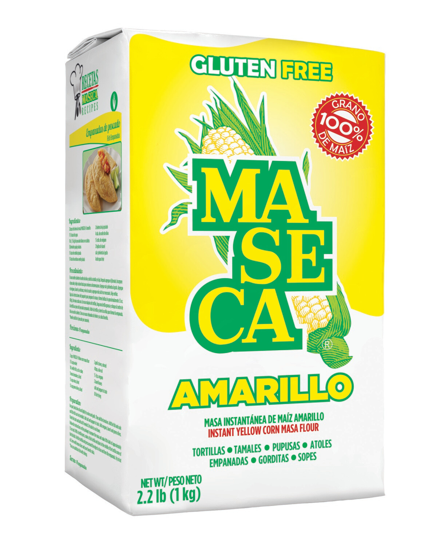 * Maseca Amarilla Flor 2.2 Pounds