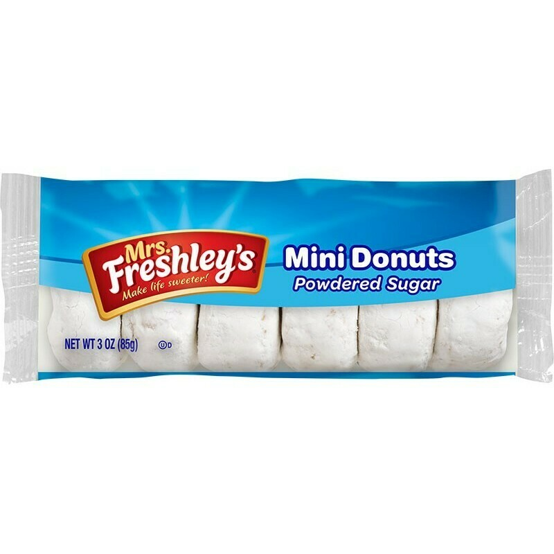 * MrsFreshley's Mini Powdered Donuts 3 Ounces