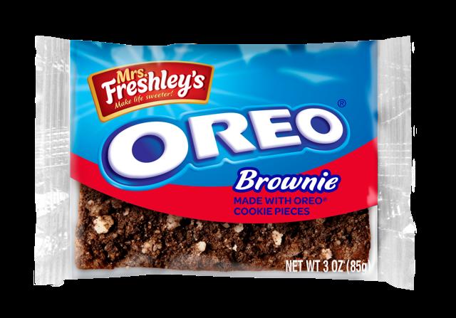 * MrsFreshley's Oreo Brownie 3 Ounces