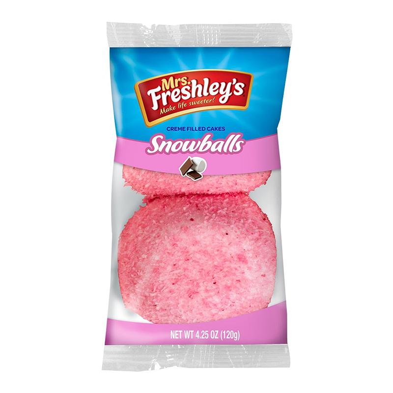 * MrsFreshley's Pink Snowballs 4.25 Ounces