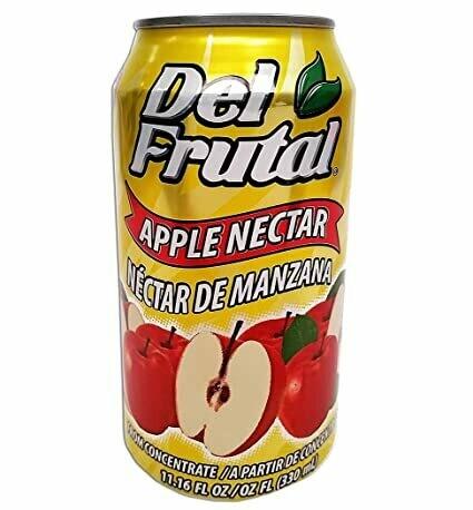 * Del Frutal Manzana (Apple) 24-11 Ounces