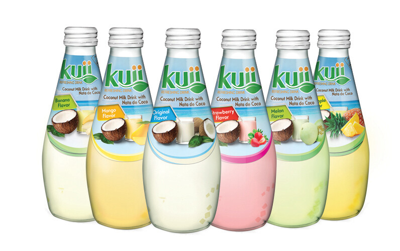 * Kuii Coco Milk Drink Original 12-9.8 Ounces