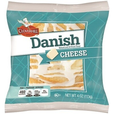 * Cloverhill Danish Cheese Round 4 Ounces