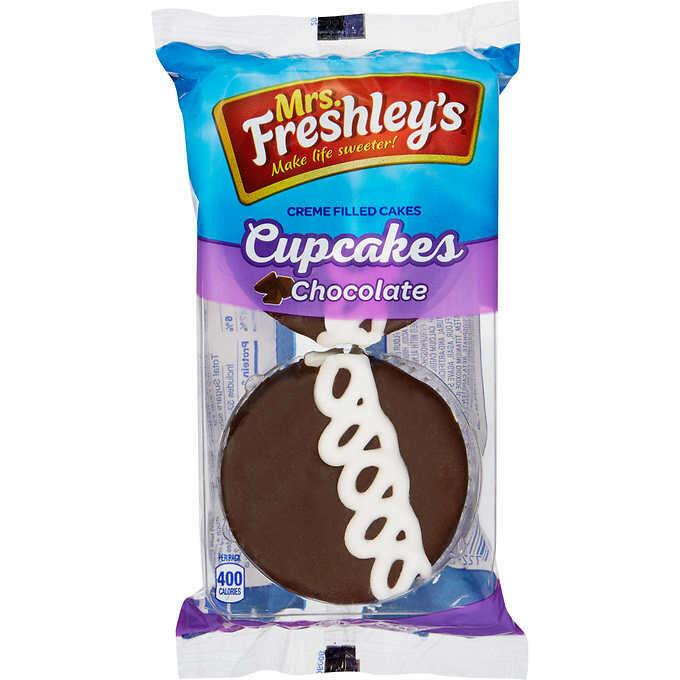 * MrsFreshley's Chocolate Cupcake 4 Ounces