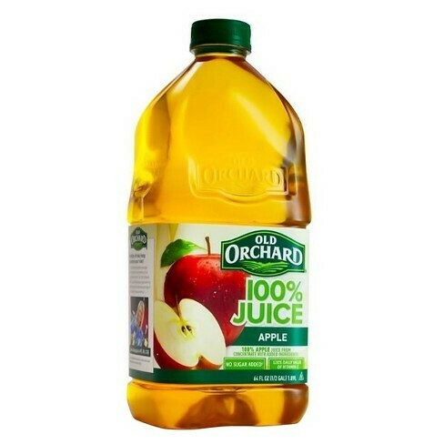 * Old Orchard 100% Apple Juice 64 Ounces