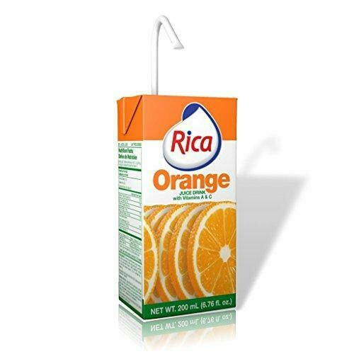 * Rica Orange Juice 27-6.76 Ounces