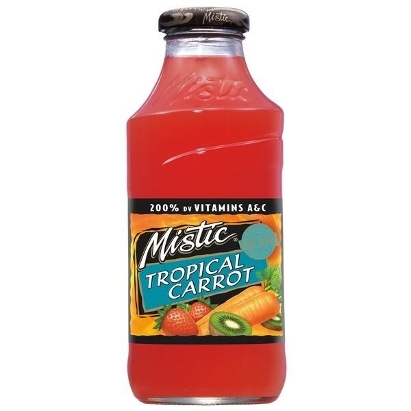 * Mistic Tropical Mango Carrot 12-16 Ounces