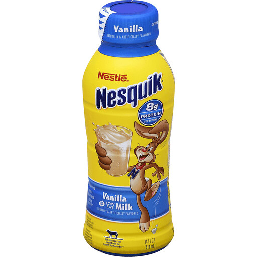 * Nesquik Vanilla Milk 14 Ounces