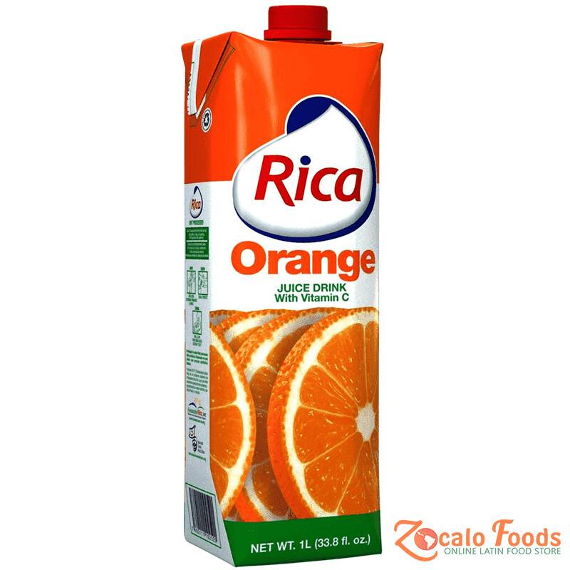 * Rica Orange Juice 18-16.9 Ounces