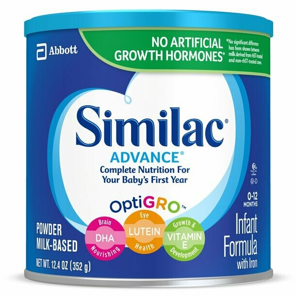 * Similac Advance Powder 12.4 Ounces