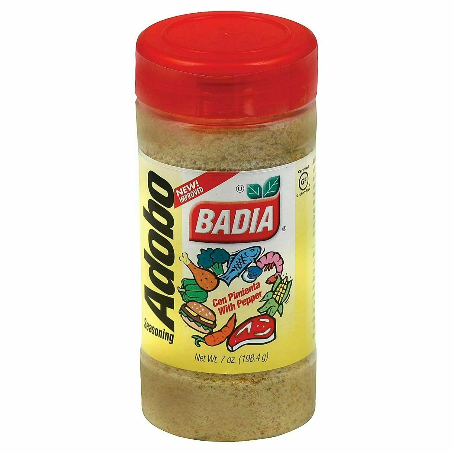 * Badia Adobo With Pepper 7 Ounces