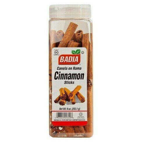 * Badia Cinnamon Sticks 9 Ounces
