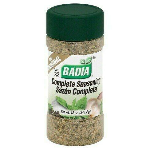 * Badia Complete Seasoning  12 Ounces