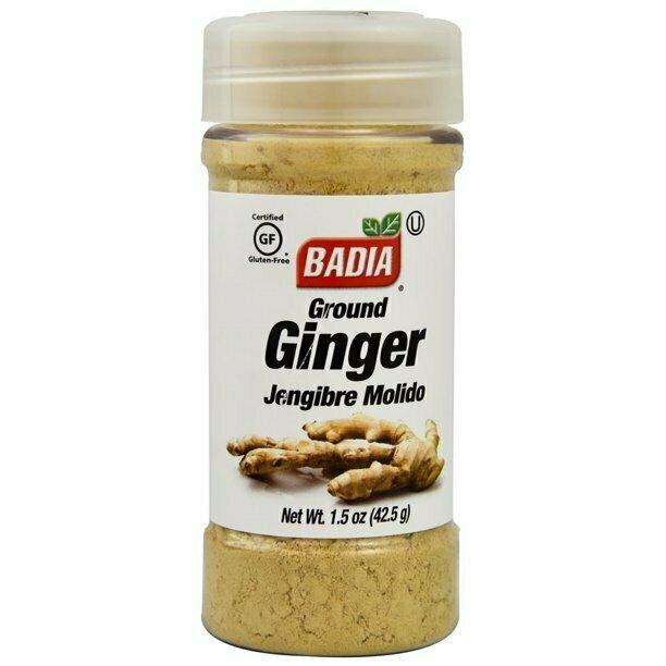 * Badia Ground Ginger 1.5 Ounces
