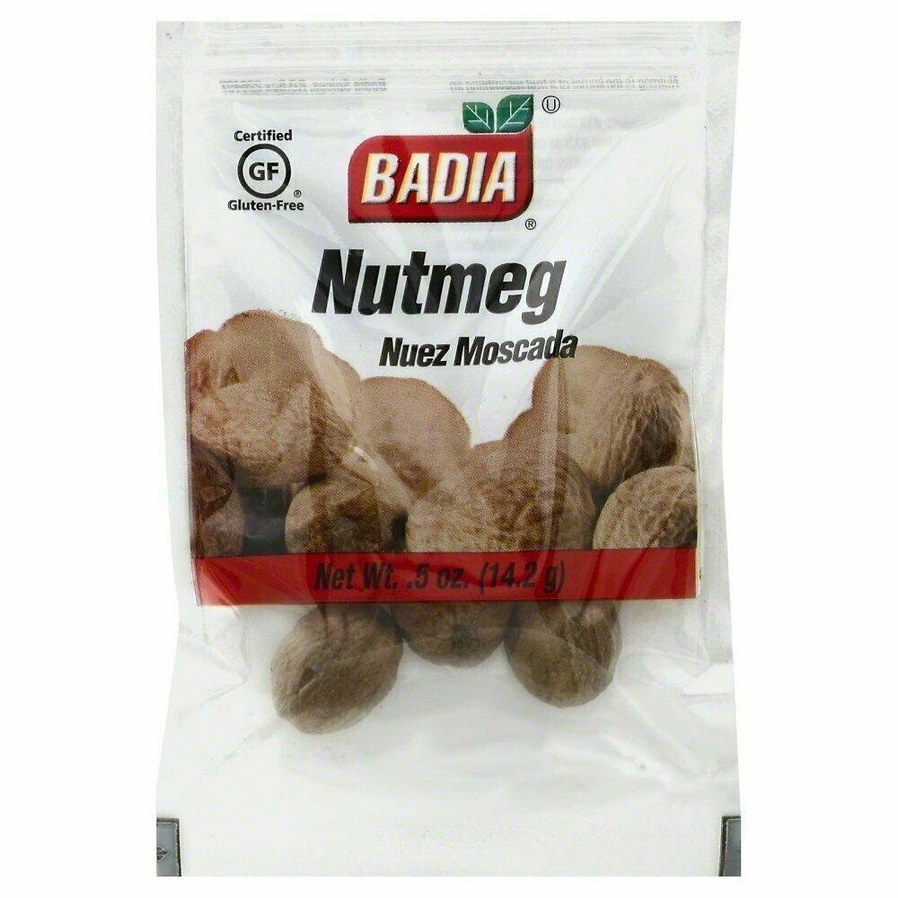 * Badia Nutmeg Whole  0.5 Ounces