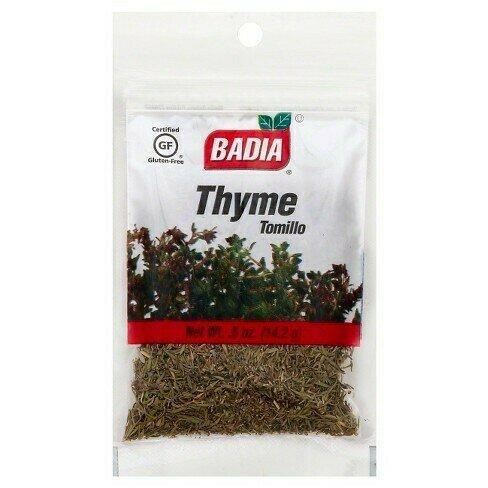 * Badia Thyme Leaves  0.5 Ounces