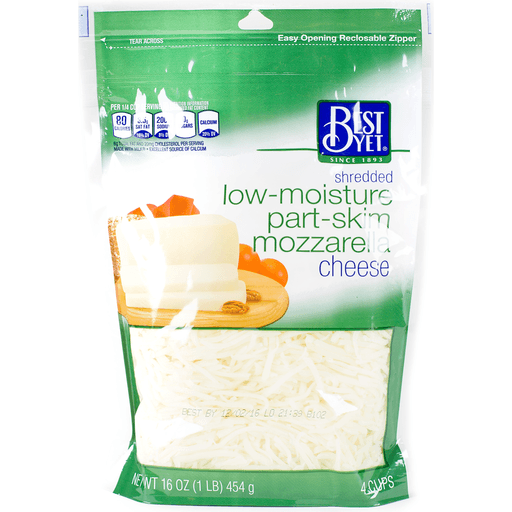 * Best Yet Shredded Mozzarella 16 Ounces