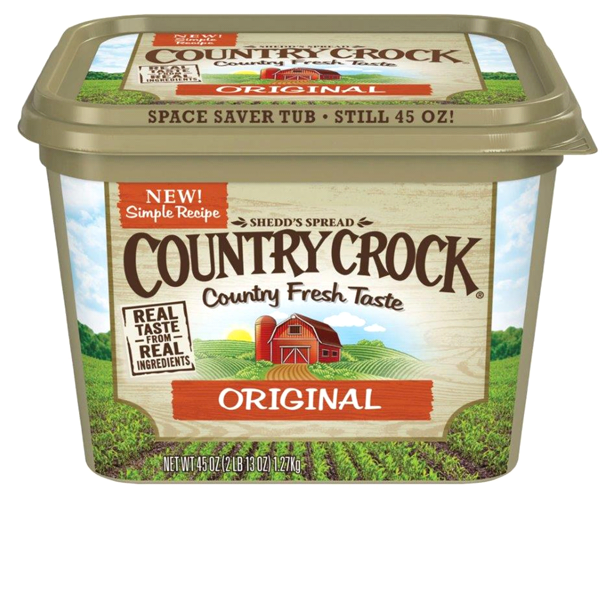 * Country Crock Regular 45 Ounces