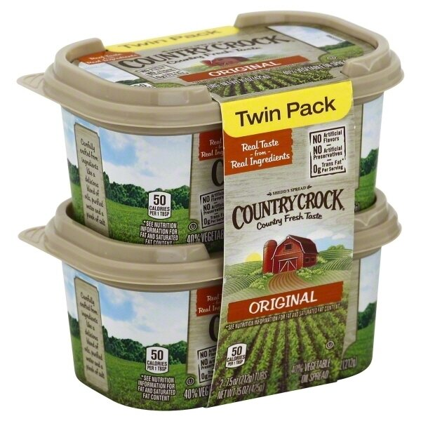 * Country Crock Spread Twin Pack 7.5 Ounces