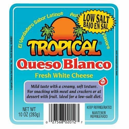 * Tropical Queso De Freir 10 Ounces