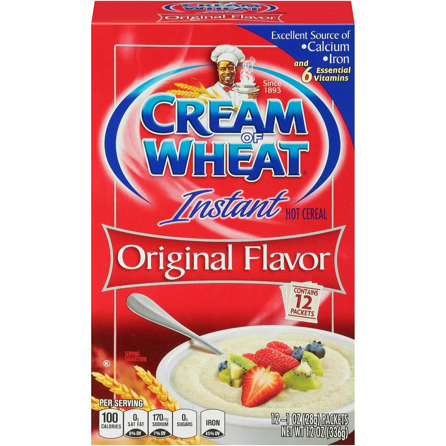 Cream of Wheat 12x1 Ounce Packs