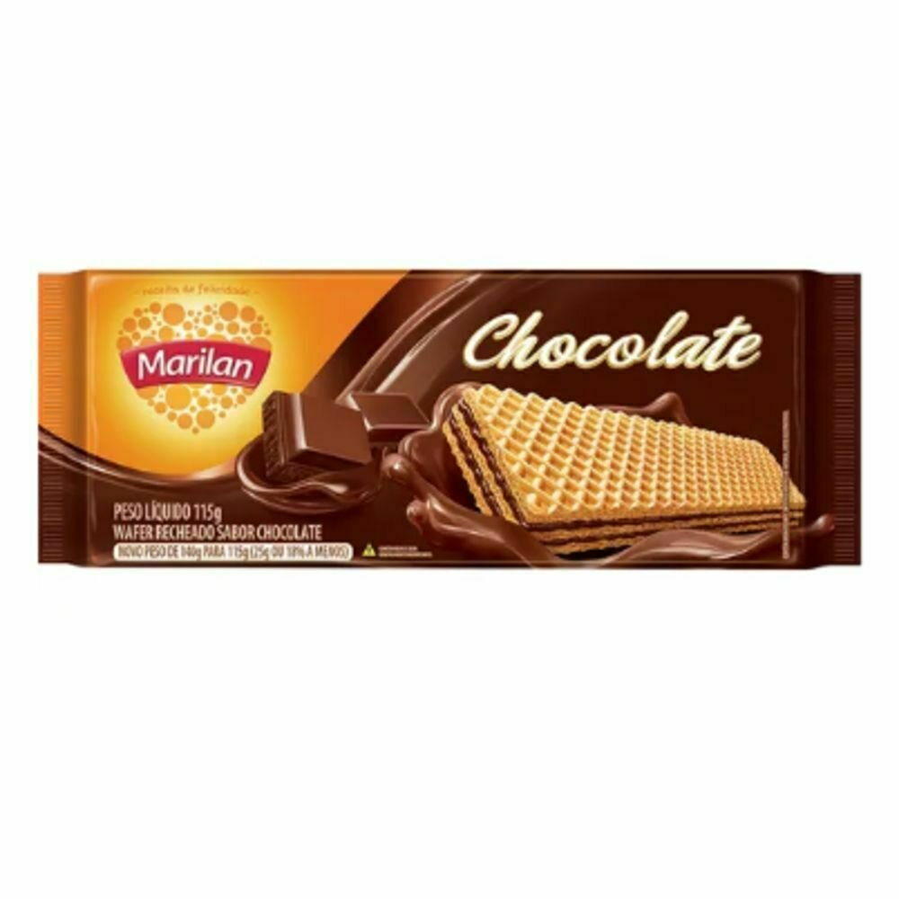 * Marilan Chocolate Wafer 115 Grams