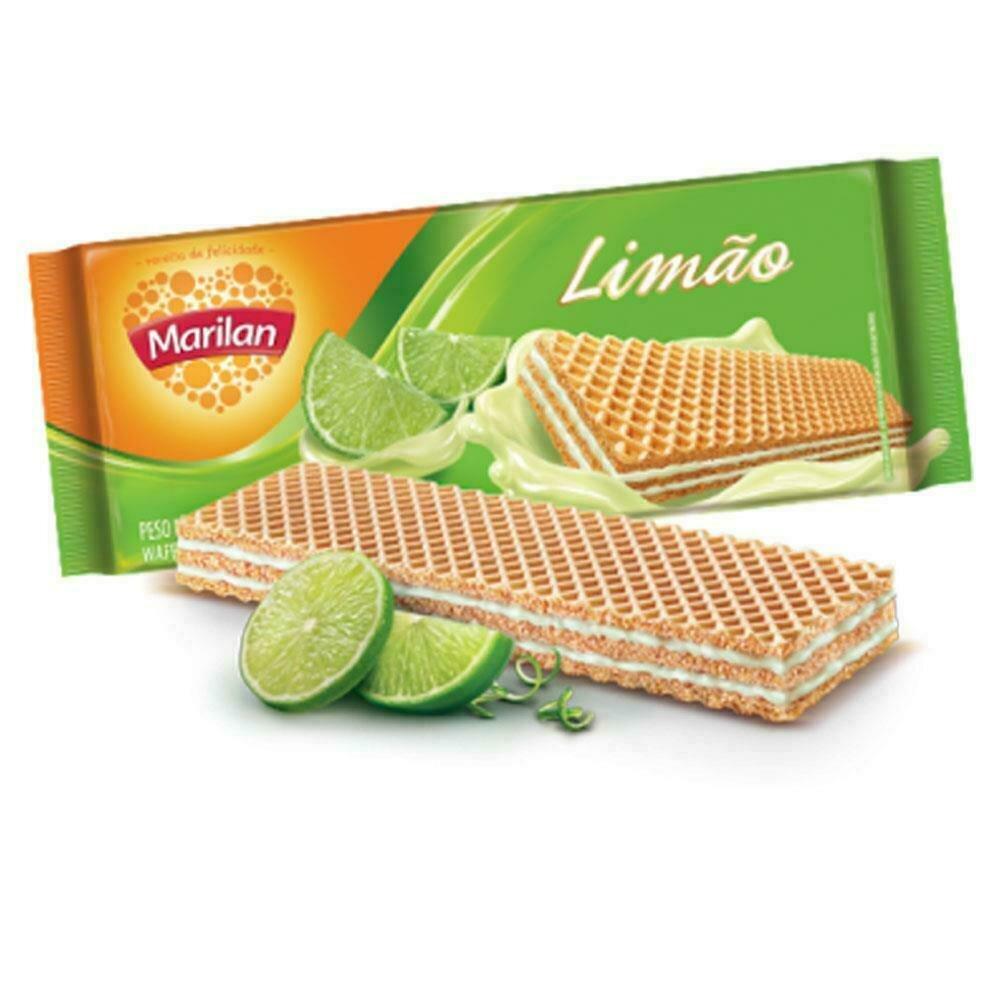 * Marilan Lime Wafer 115 Grams
