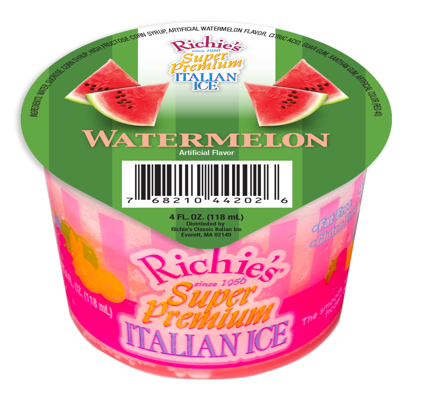 * Richie's Watermelon 4 Ounce Cup