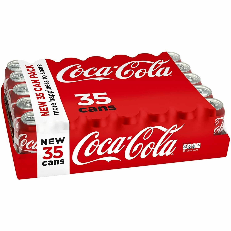* Coca-Cola Classic 35x12 Ounces