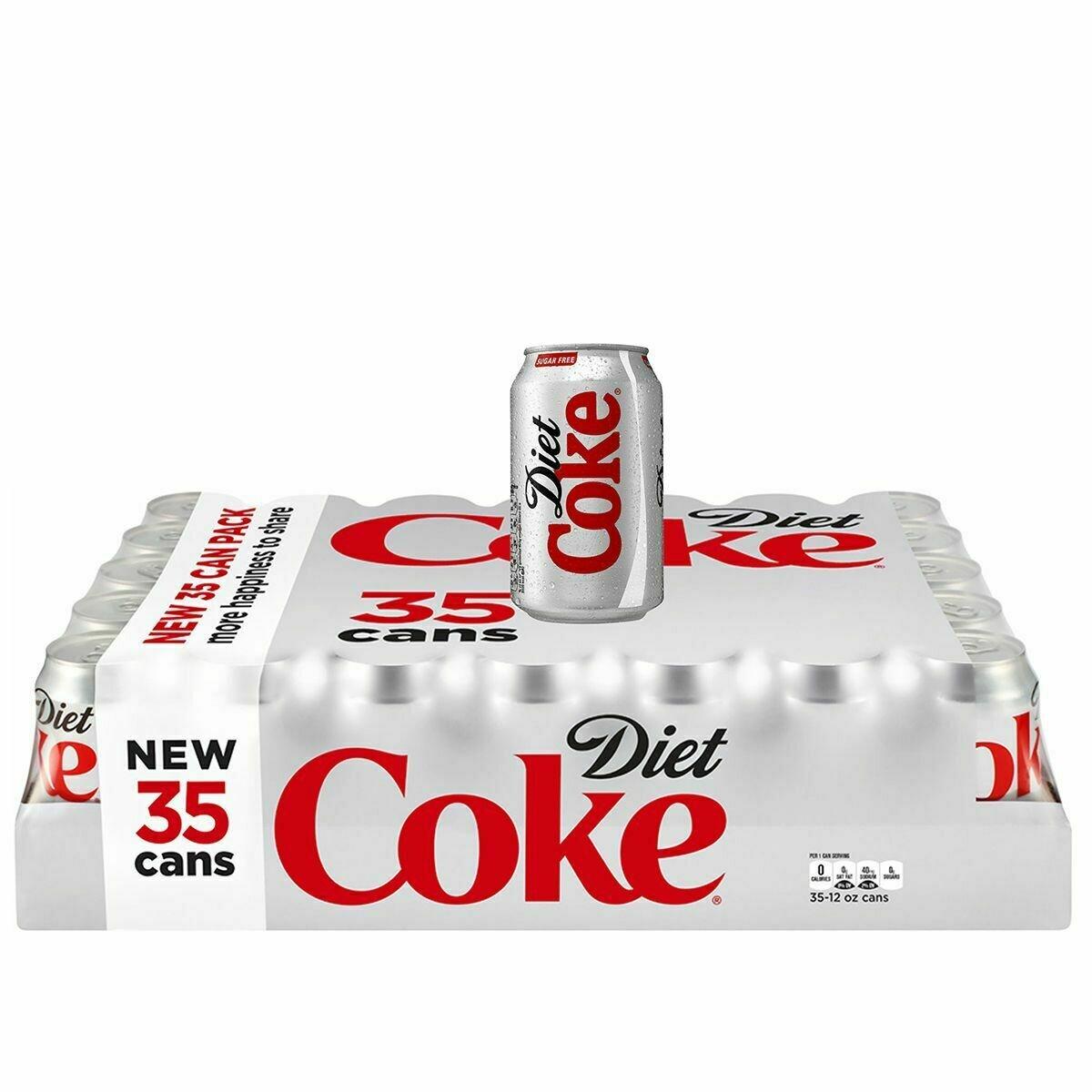 * Diet Coke 35x12 Ounces
