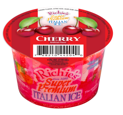 * Richie's Cherry 4 Ounce Cup