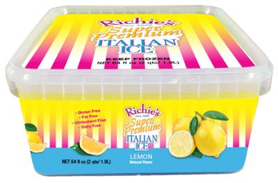 Richie's Lemon 1/2 Gallon