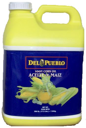 * Del Pueblo Corn Oil 280 Ounces
