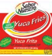 * Frozen Sabor Nuestro Yucca Fries 2 Pounds